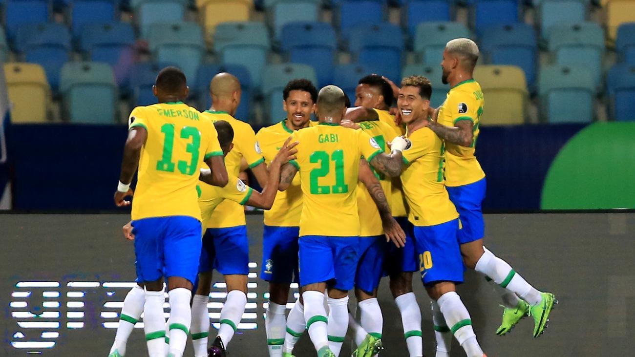 BRA vs CHI Dream11 Brazil vs Chile Copa America Live Score